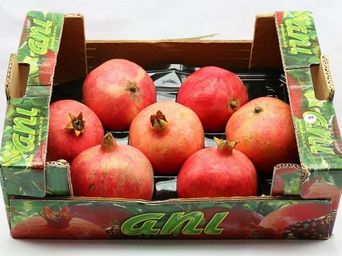 Granatäpfel Kiste