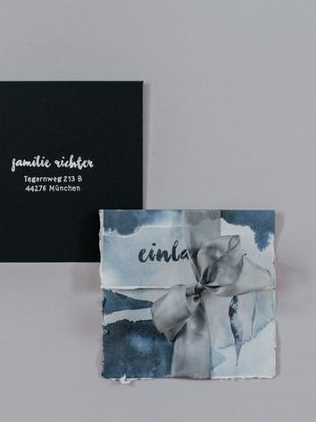 Einladungskarte mit Kuvert