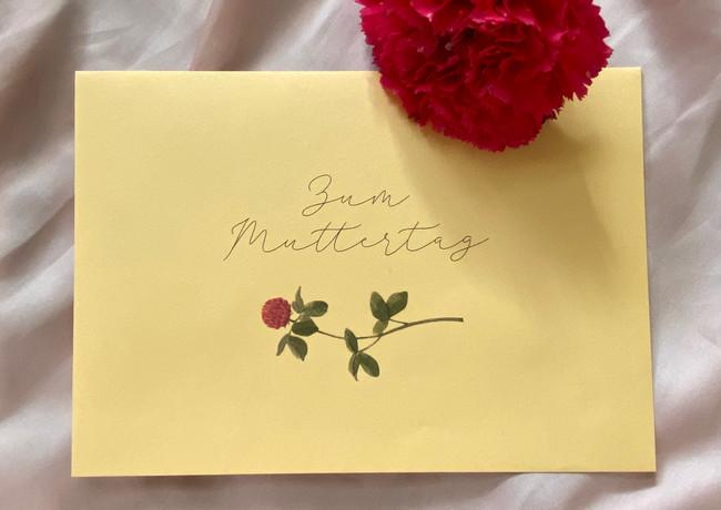 Kuvert Muttertag
