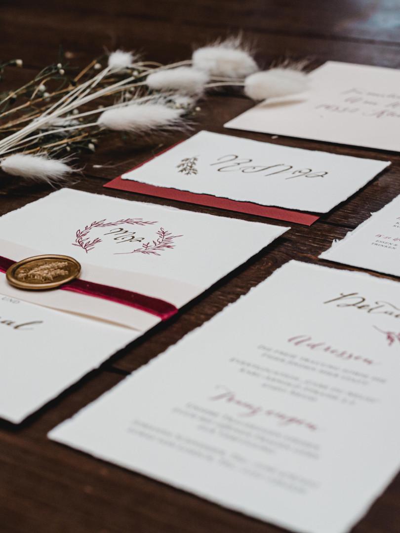 Detailansicht Einladungskarte