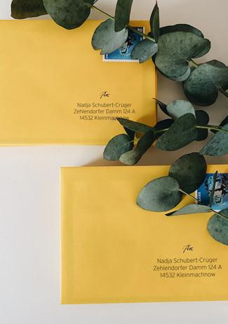 Kuvert Gelb