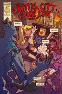 Cap City Comic Con Poster