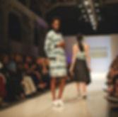 Fashion show runway - models