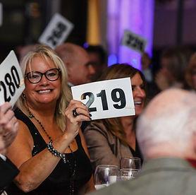 Nonprofit Event bidder number