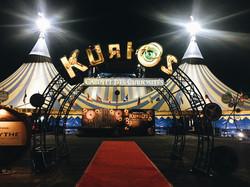 Cirque du Soleil event tent kurios