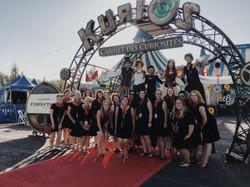 team of planners at cirque du Soleil