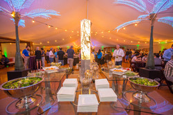 Epic tented corporate event