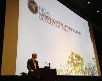 NGA Director Cardillo Delivers Keynote Address at GEO-Energy Summit