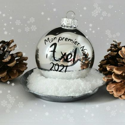 Boule Personnalisable : Mon premier Noël
