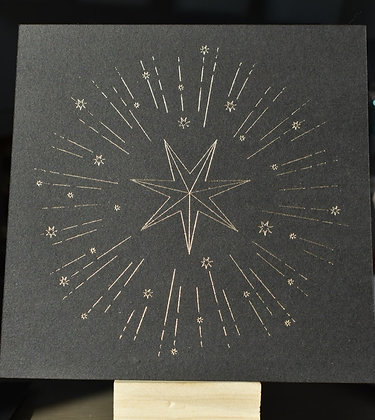 Carte  Etoile