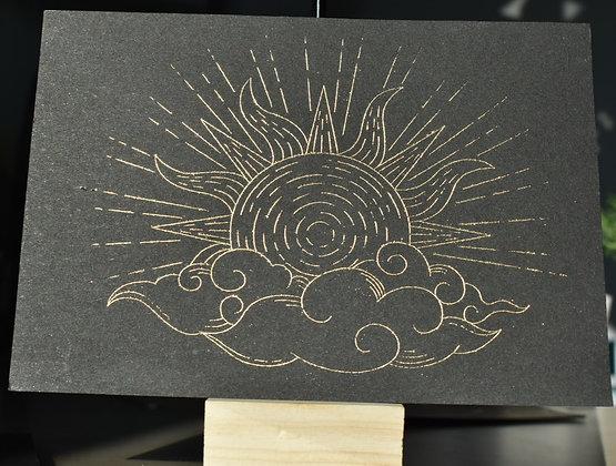 Carte  Soleil et Nuage