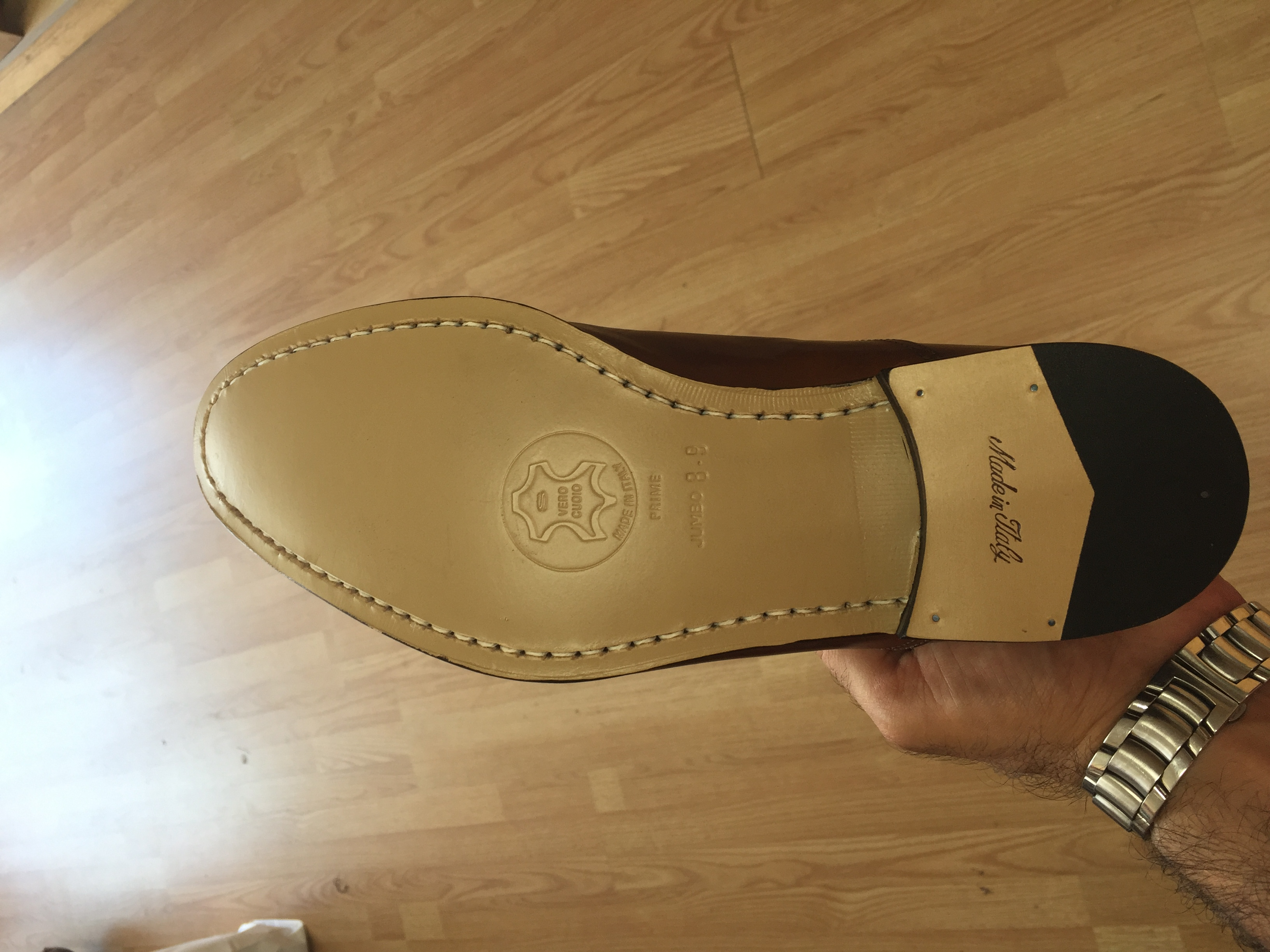 Full Sole and Heels Mens
