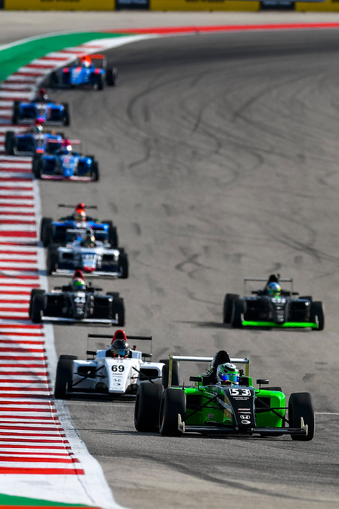 Tommy Foster Circuit of the Americas