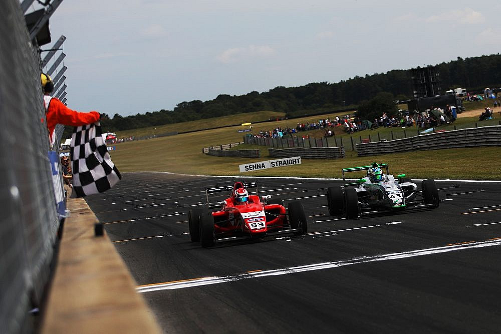 Tommy Foster Win Formula 4 F4