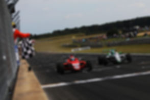 Tommy Foster Chequered Flag