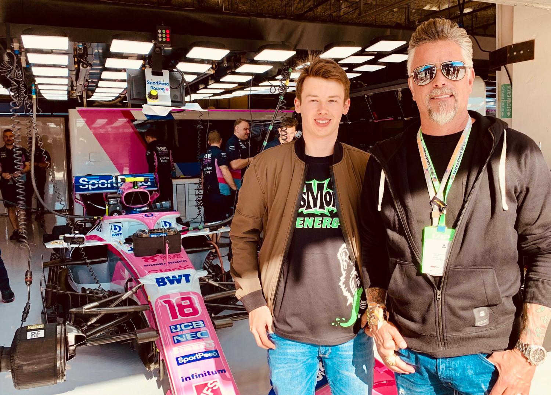 Tommy Foster Richard Rawlings Formula 1 F1