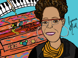 #Good Morning: Ayana Mack - Artist of the 'Play Me, I'm Yours' piano project