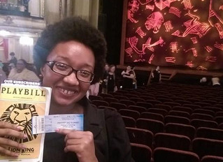 My favorite Disney movie LIVE on stage :Lion King: The Musical