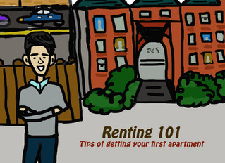 Renting 101- tips on getting your first apartment