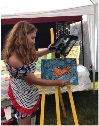 Samantha Gottlich of NROR ART