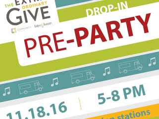 You're Invited to the ExtraGive Pre-Party!