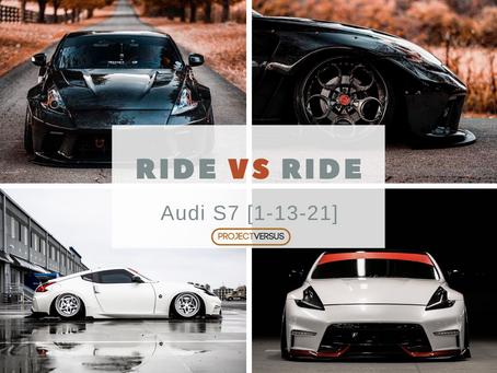 Ride vs Ride | Nissan 370z