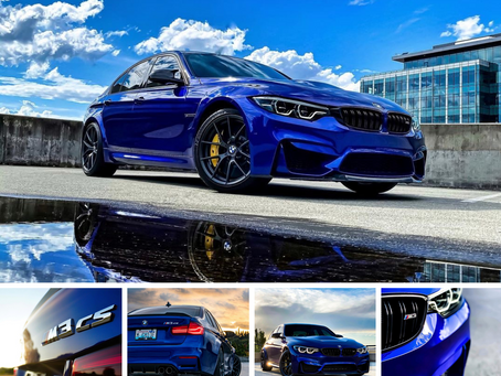 🔥BUILD FEATURE 🔥 2018 BMW M3 CS
