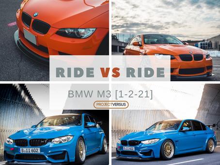Ride vs Ride [1-2-21] BMW M3