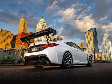 Camden's featured ride for [3-18-21]Lexus RCF