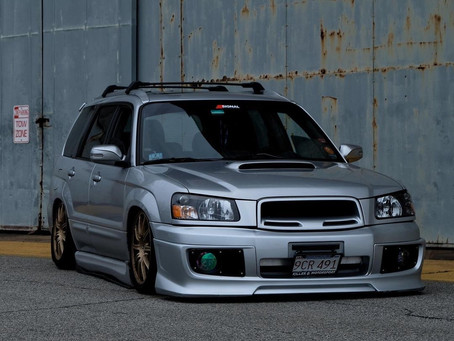 Camden's featured ride for [1-19-21]Subaru Forester XT