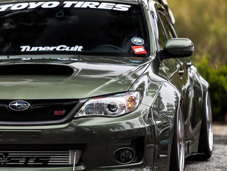 Camden's featured ride for [12-31-20]. Subaru WRX STI hatch.