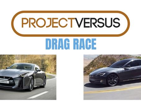 2020 Tesla Model S Performance vs Nissan GT-R Versus Battle