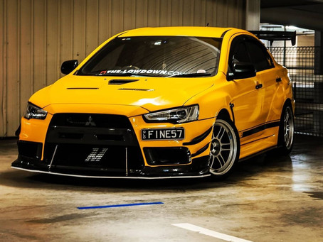 Tim's featured ride for [3-16-21]Mitsubishi EVO X