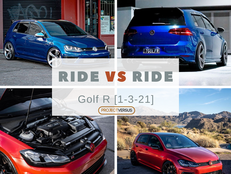 Ride vs Ride - Golf R