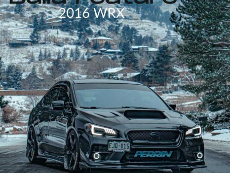 Build Feature - 2016 Subaru WRX
