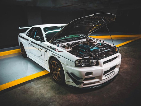 Tim's featured ride for [3-30-21]Nissan Skyline R34