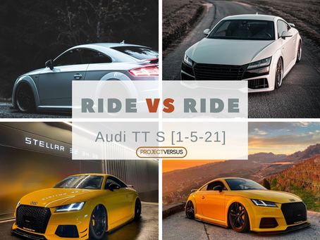 Ride Vs Ride | Audi TT RS