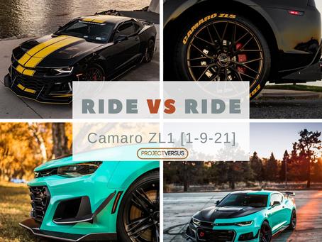Ride vs Ride  | Camaro ZL1