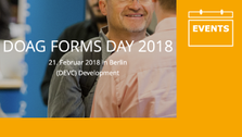 IT-Macher beim Forms Day der DOAG in Berlin