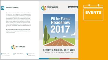 Einladungsbroschüre für die Roadshow 2017 online