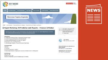 Gute Nachrichten zu Oracle BI Publisher für Reports Kunden!