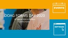 Vorträge vom Forms Day der DOAG ...