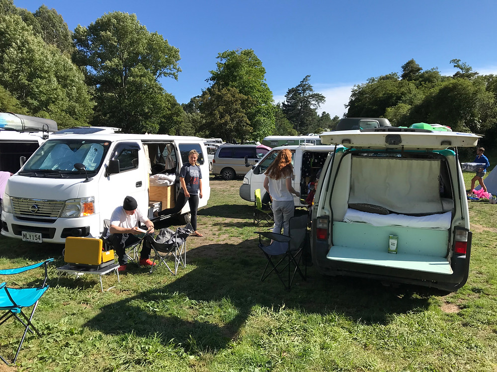 Van life in New Zealand