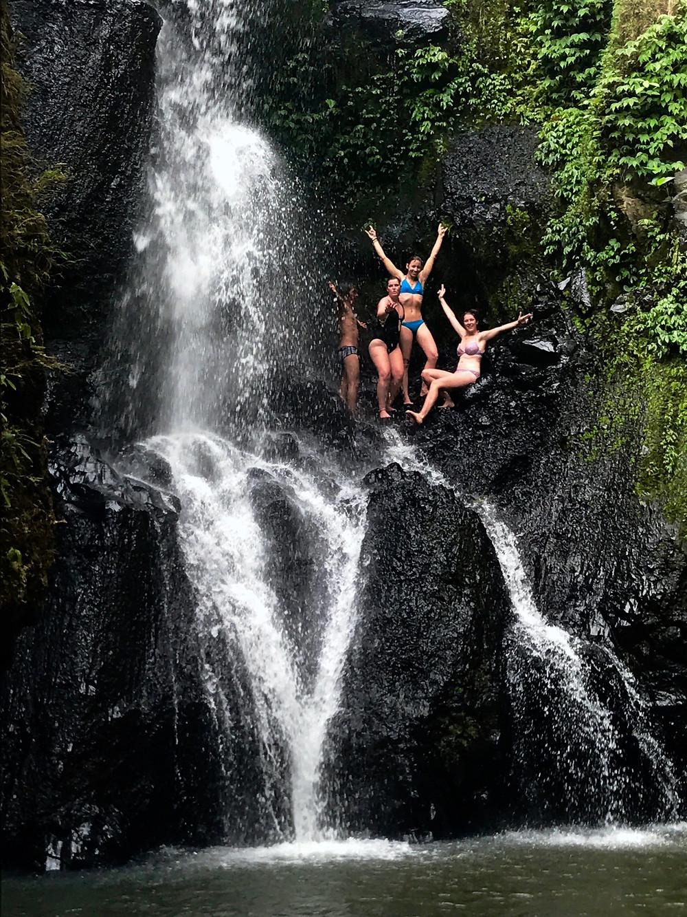 Chasing waterfalls in Lombok