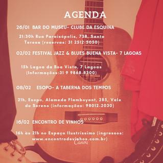 Agenda Fevereiro 2019
