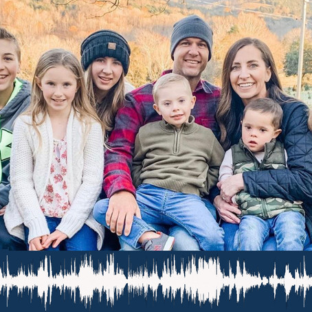 018: Big Families and Adopting a Child with Down syndrome