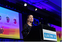 BELKIN Laser Presents at Glaucoma 360 New Horizons Forum, San-Francisco, USA (presenter Daria Lemann