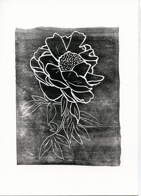 Peonia Block Stamp #2 of 15