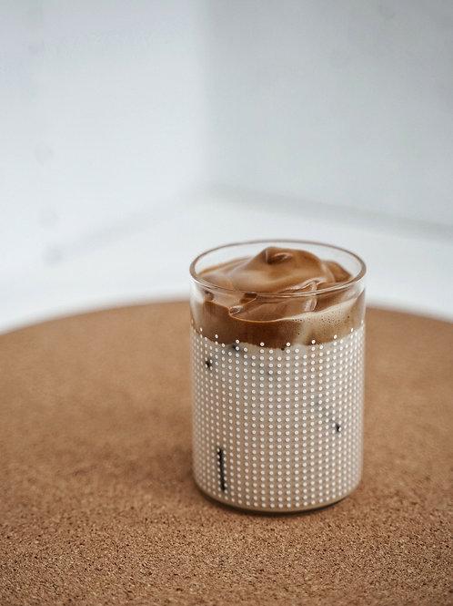 Mousse caramelo framboise