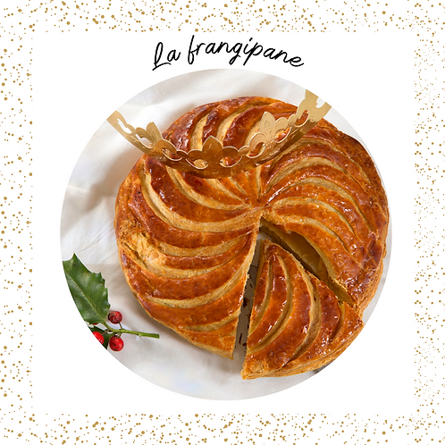 Galette frangipane 8-10 pers